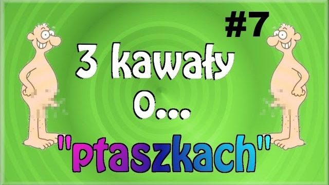 """3 Kawały o… """"PTASZKACH"""" #7 – Marcin Sznapka"""