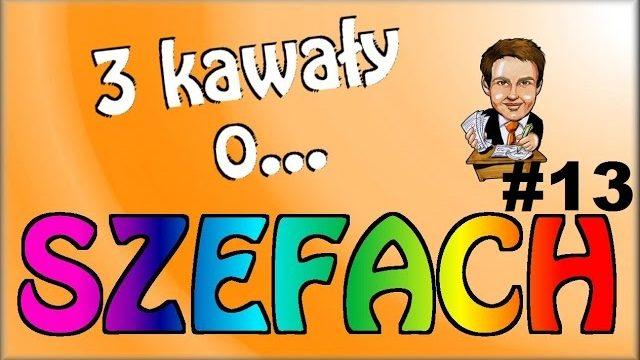 3 Kawały o… SZEFACH #13 – Marcin Sznapka