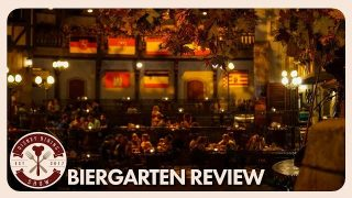 Biergarten in Epcot's Germany Pavilion Lunch Review | Disney Dining Show | 07/06/18