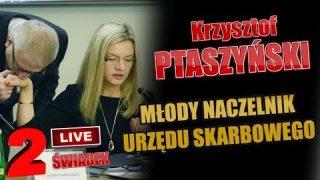 Całość! M.WASSERMANN vs Krzysztof PTASZYŃSKI – Młody NACZELNIK Urzędu SKARBOWEGO!  Amber Gold