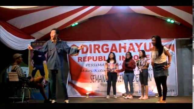 Kabayan jadi selebritis (kabaret IREJA 2014)