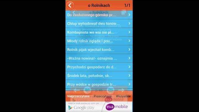 Kawały i Dowcipy aplikacja na Android i iOS