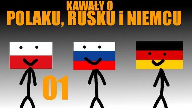 Kawały o Polaku Rusku i Niemcu #01 Siki Azorka