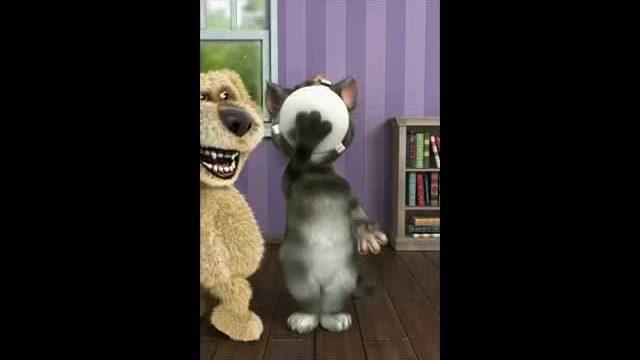 Kot Tom i Pies Ben 10min -bajki  dla dzieci śmieszne HD