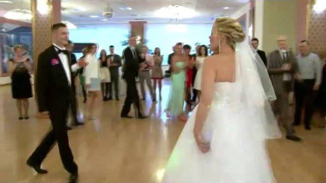 Śmieszny pierwszy taniec Ania i Tomek
