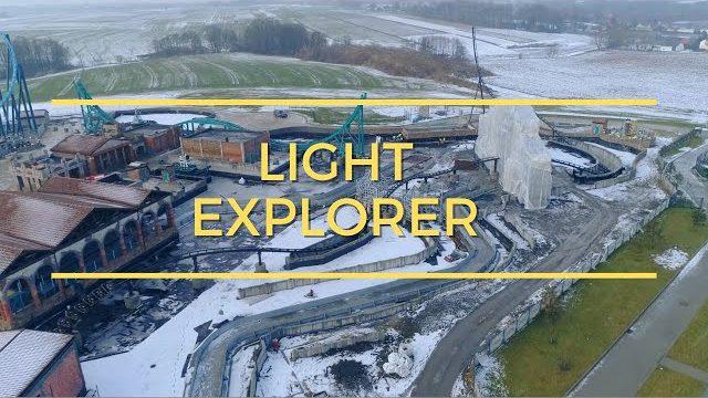 [ PARKI ROZRYWKI ] Premier Test LIGHT EXPLORER w parku rozrywki Energylandia