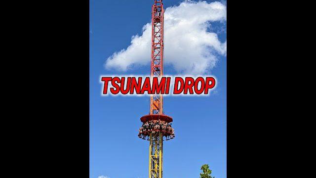 TSUNAMI DROP Energylandia  2021 😵💫😱