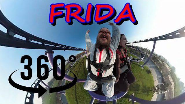 [ VR 360° ] Roller Coaster FRIDA EnergyLandia * pierwszy wagonik *