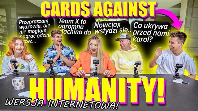 CARDS AGAINST HUMANITY! *WERSJA EKIPOWA*