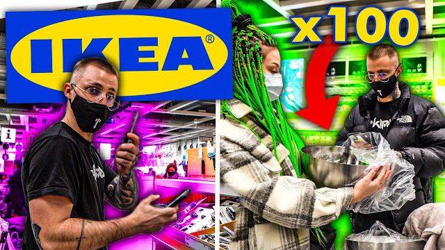 KUPILIŚMY 100 RÓŻNYCH RZECZY W IKEA!