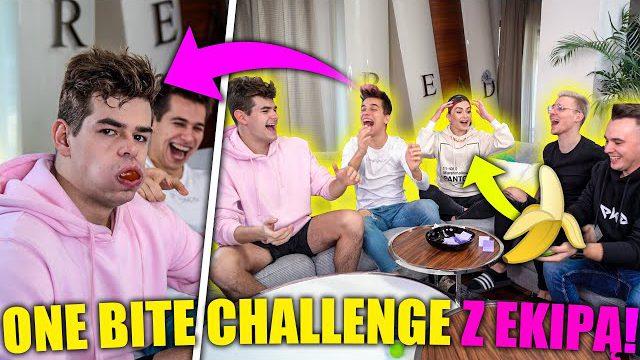 ONE BITE CHALLENGE!