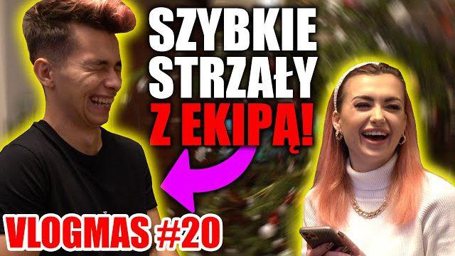 SZYBKIE STRZALY Z EKIPĄ! | VLOGMAS #20