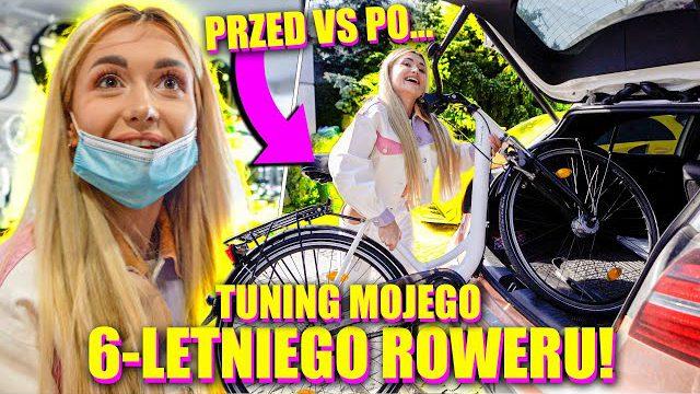 TUNING MOJEGO 6-LETNIEGO ROWERU! *JAK NOWY*