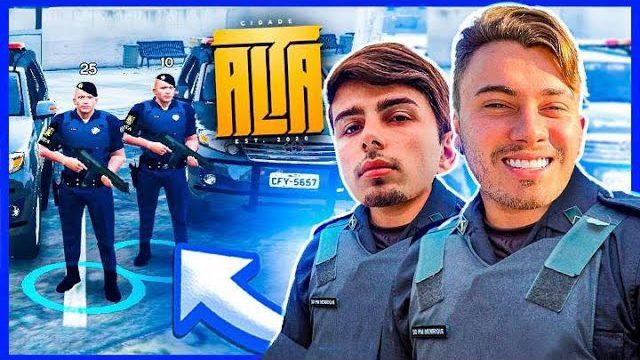 DEBY E LOIDY, OS NOVOS POLICIAIS DO CDA EP #1  (GTA RP)